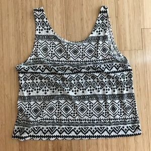 Forever 21 Tops - Print tank top size small